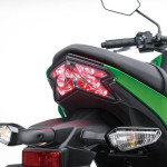 2016 Kawasaki Z125 Taillight