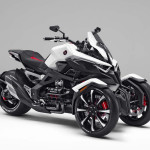 Honda Neowing Leaning Three-Wheeler Hybrid Concept