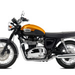 2016 Triumph Bonneville T100 Aluminium Silver and Jet Black