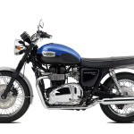2016 Triumph Bonneville T100 Caspian Blue and Jet Black