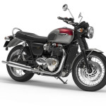 2016 Triumph Bonneville T120 Cranberry Red and Aluminium Silver
