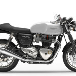 2016 Triumph Thruxton Pure White