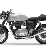 2016 Triumph Thruxton Pure White Left Side