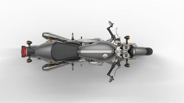 2016 Triumph Thruxton R Top