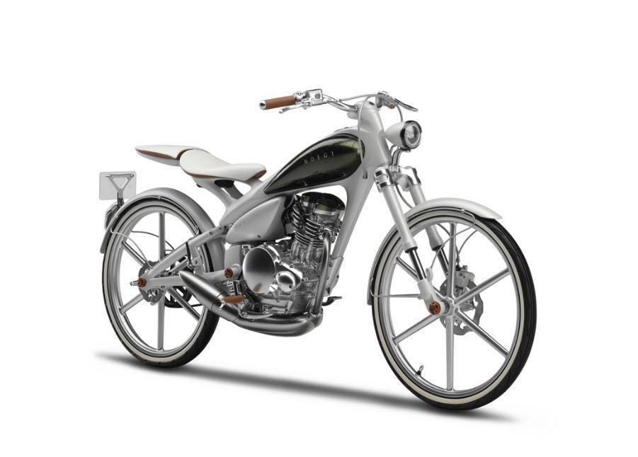 2011 Yamaha Y125 MOEGI Concept