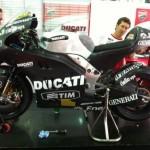 Rossi's Ducati Desmosedici GP12 First Picture