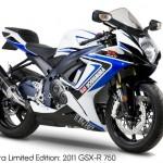 2012 Yoshimura Suzuki Limited Edition GSX-R's