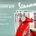 Vespa Photo Contest: Win a New Vespa LX 50 Scooter