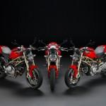 2013 Ducati 20th Anniversary Edition Monster, 1100 Evo, 796 and 696_7