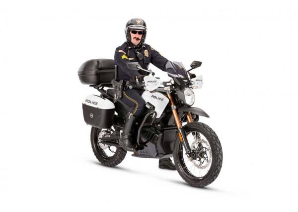 2013 Zero Police-spec Electric Motorcycles
