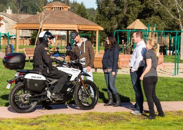 2013 Zero Police-spec Electric Motorcycles_24