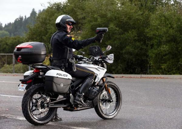 2013 Zero Police-spec Electric Motorcycles_25