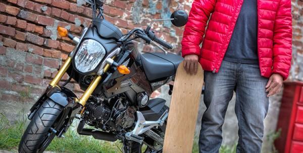 2014 Honda Grom Metallic Black_1