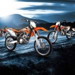 2014 KTM EXC and SX Lineup European-spec