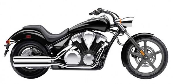 2014 Honda Sabre Black