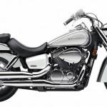 2014 Honda Shadow Aero Metallic Silver Pearl White
