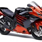 2014 Kawasaki Ninja ZX-14R Candy Burnt Orange