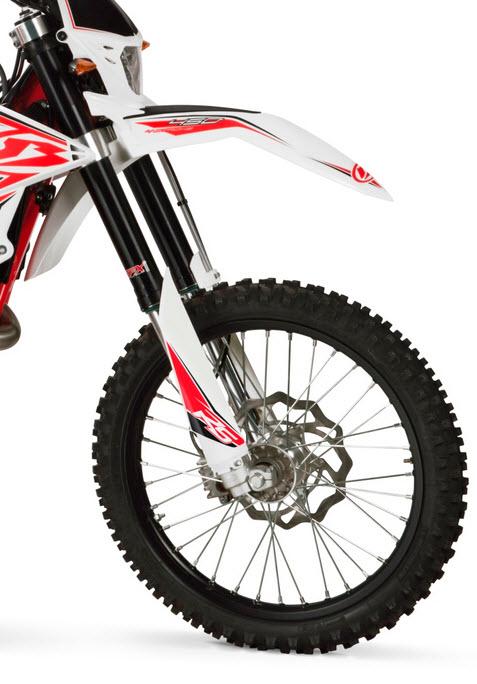 2014 RS Dual-sport Motorcycle Frontfork LR