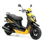 2014 Zuma 50FX Scooter Vivid Yellow