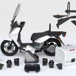 2014 Vectrix VT-1 Electric Scooter Modular Parts_1