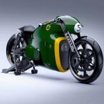 2014 Lotus C-01 Motorcycle Green