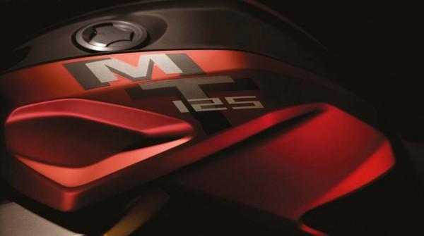 2014 Yamaha MT-125 Full Tank Logo