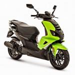 2015 Peugeot Speedfight 4 Fluo Apple Green
