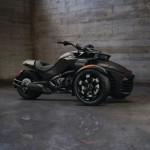 2016 Can-Am Spyder F3-S Triple Black Edition