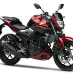 Yamaha Confirms 2016 Yamaha MT-03 Red Metallic