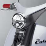 Honda EV-Cub Concept Retro Round Headlight